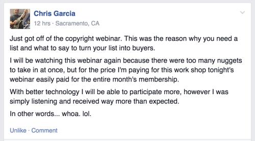 copywriting tips testimonial