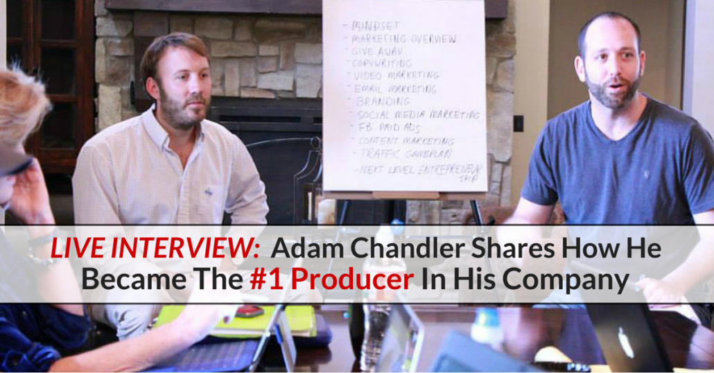 Live Interview: How He Became The #1 Producer In His Company