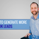 generate facebook leads