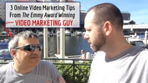 3 Online Video Marketing Tips From An Emmy Award Winner