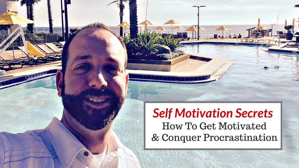 Self Motivation Secrets | How To Get Motivated & Conquer Procrastination