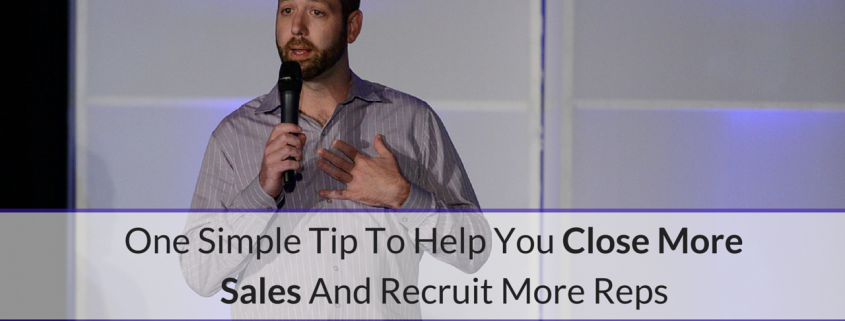 close more sales recruit more reps