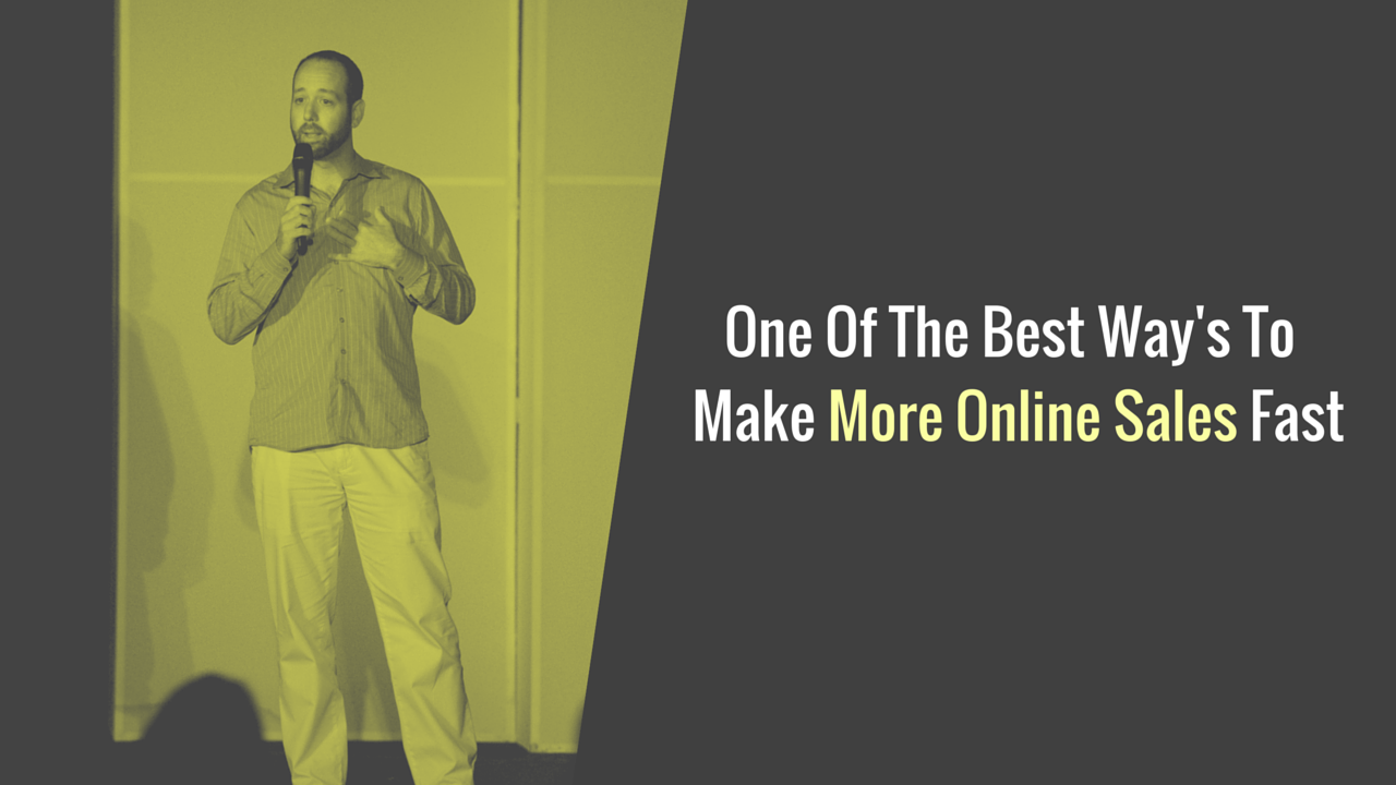 make more online sales