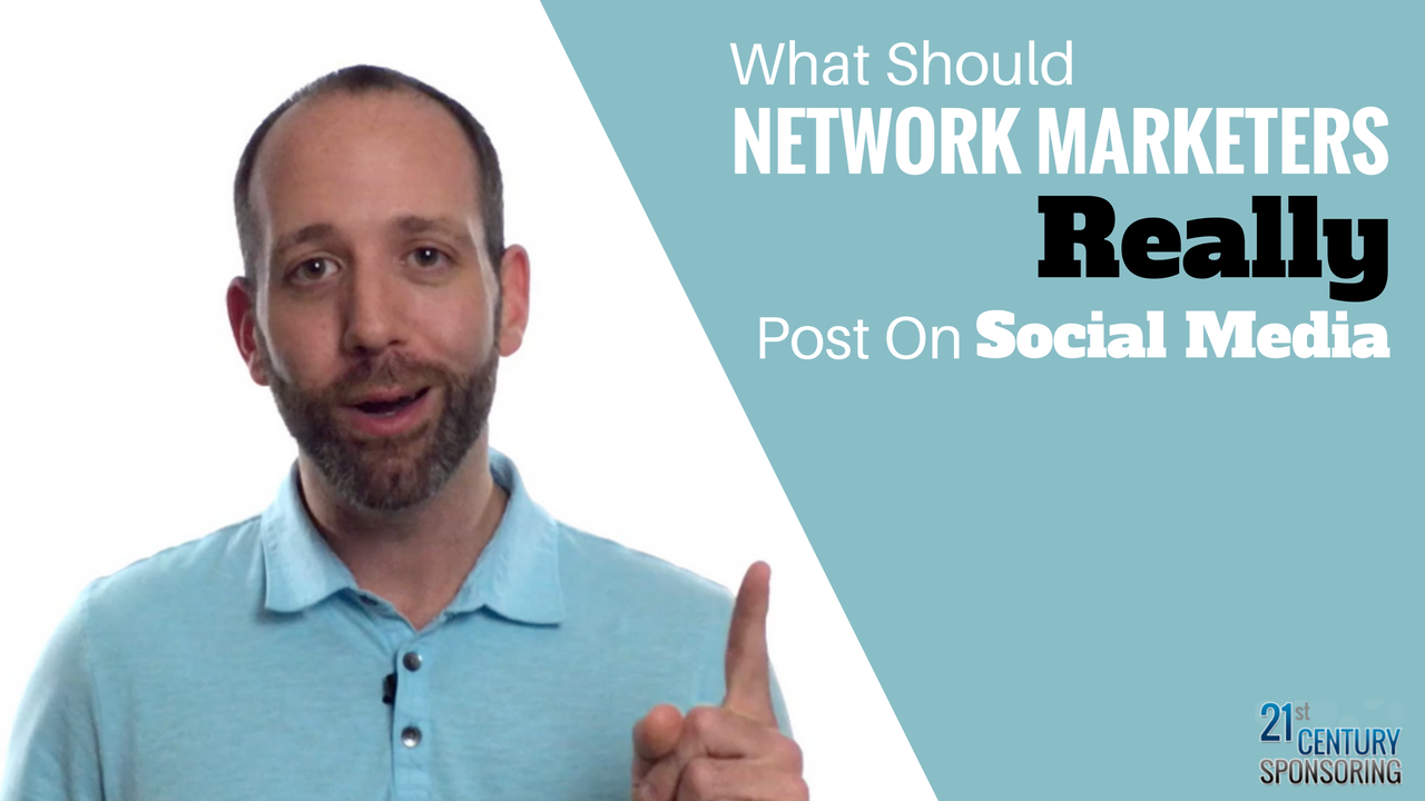 network marketing tips for posting on social media
